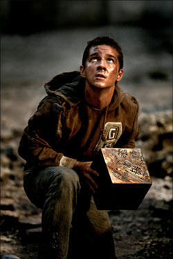 Sam Witwicky (Shia LaBeouf) in &quot;Transformers.&quot;